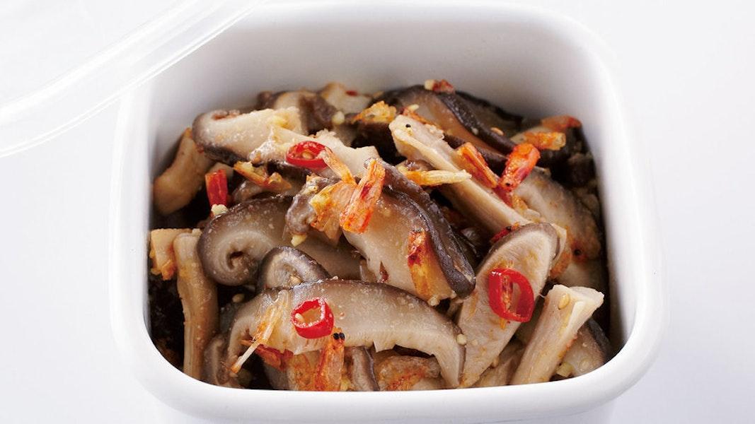 中国風味の塩きのこ
