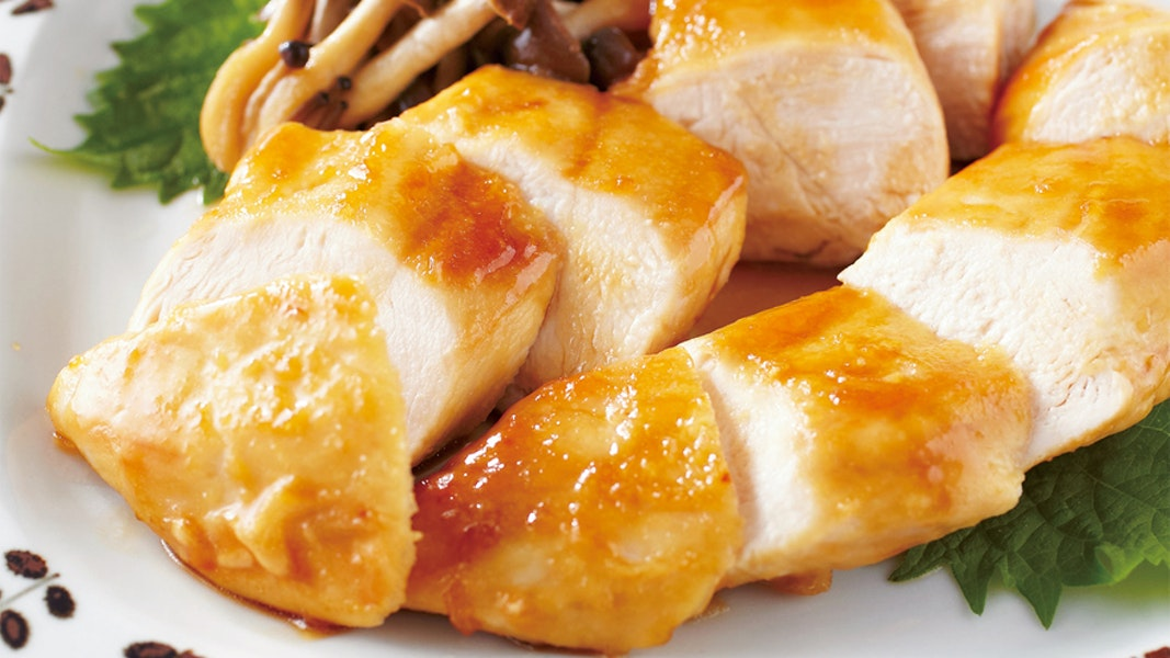 鶏むね肉の照り焼き
