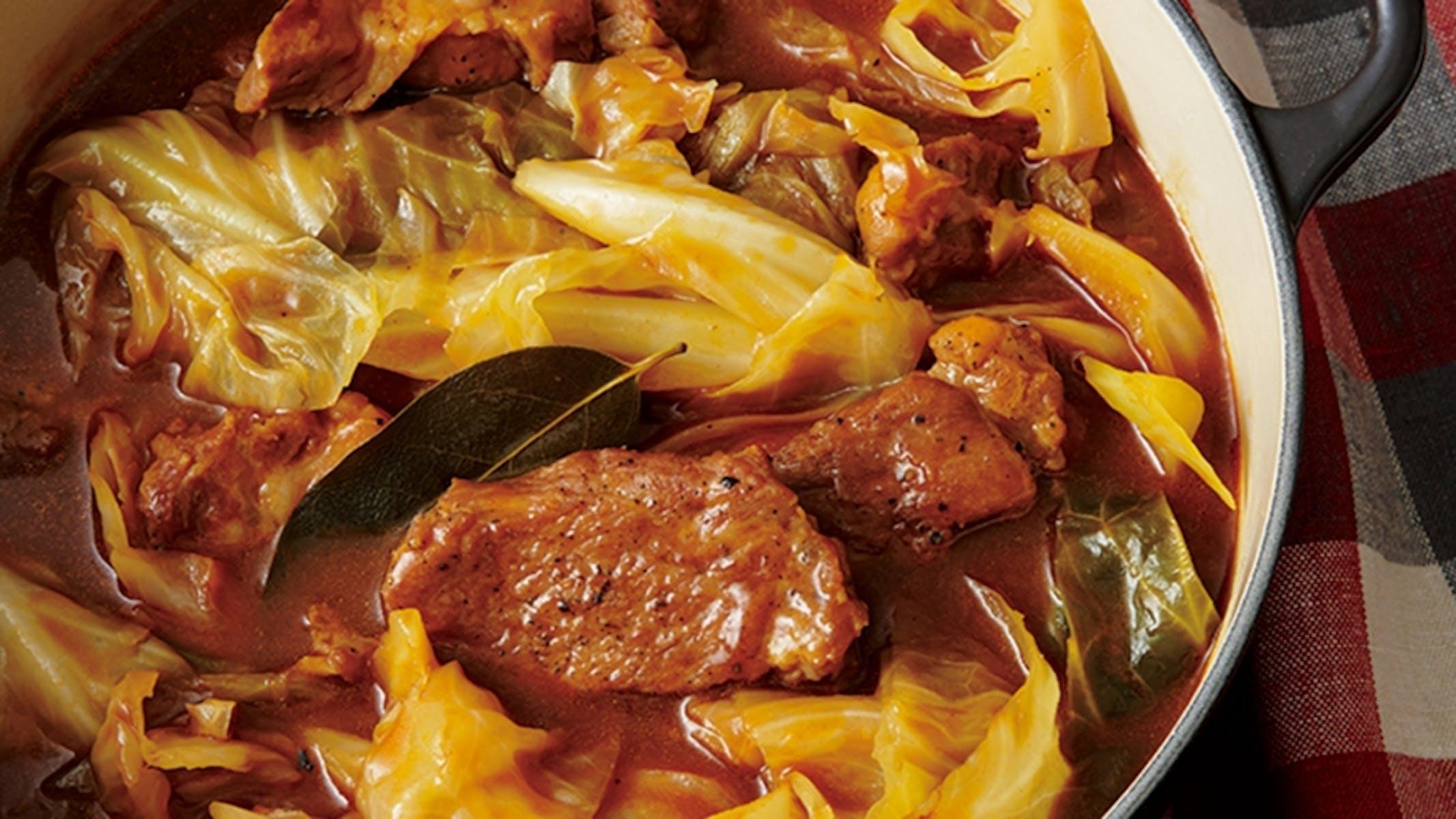 豚肉のドミグラス煮込み
