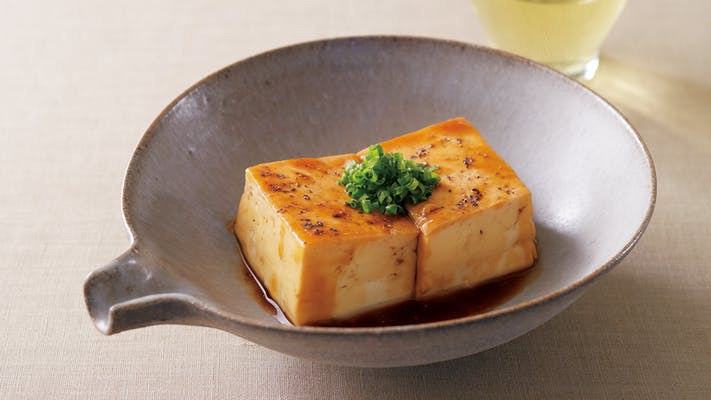 豆腐のオイスターソース煮