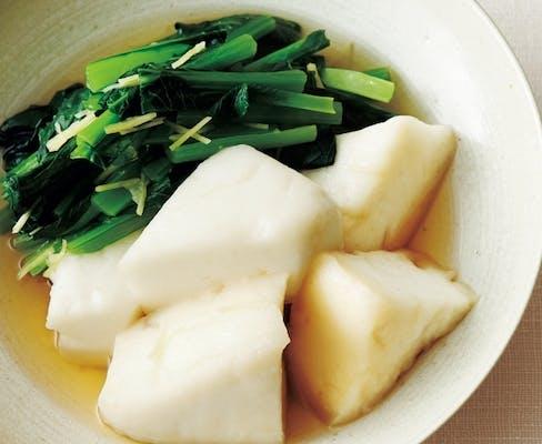 はんぺんと小松菜の煮物