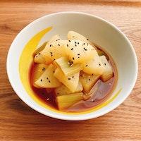 レンジで大根の中華風煮物
