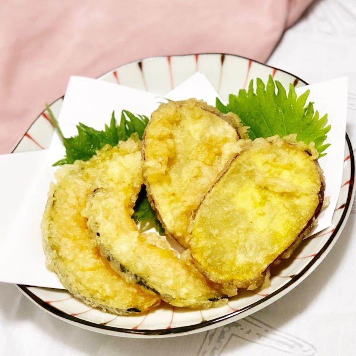 マヨネーズでサクサク!根菜の天ぷら