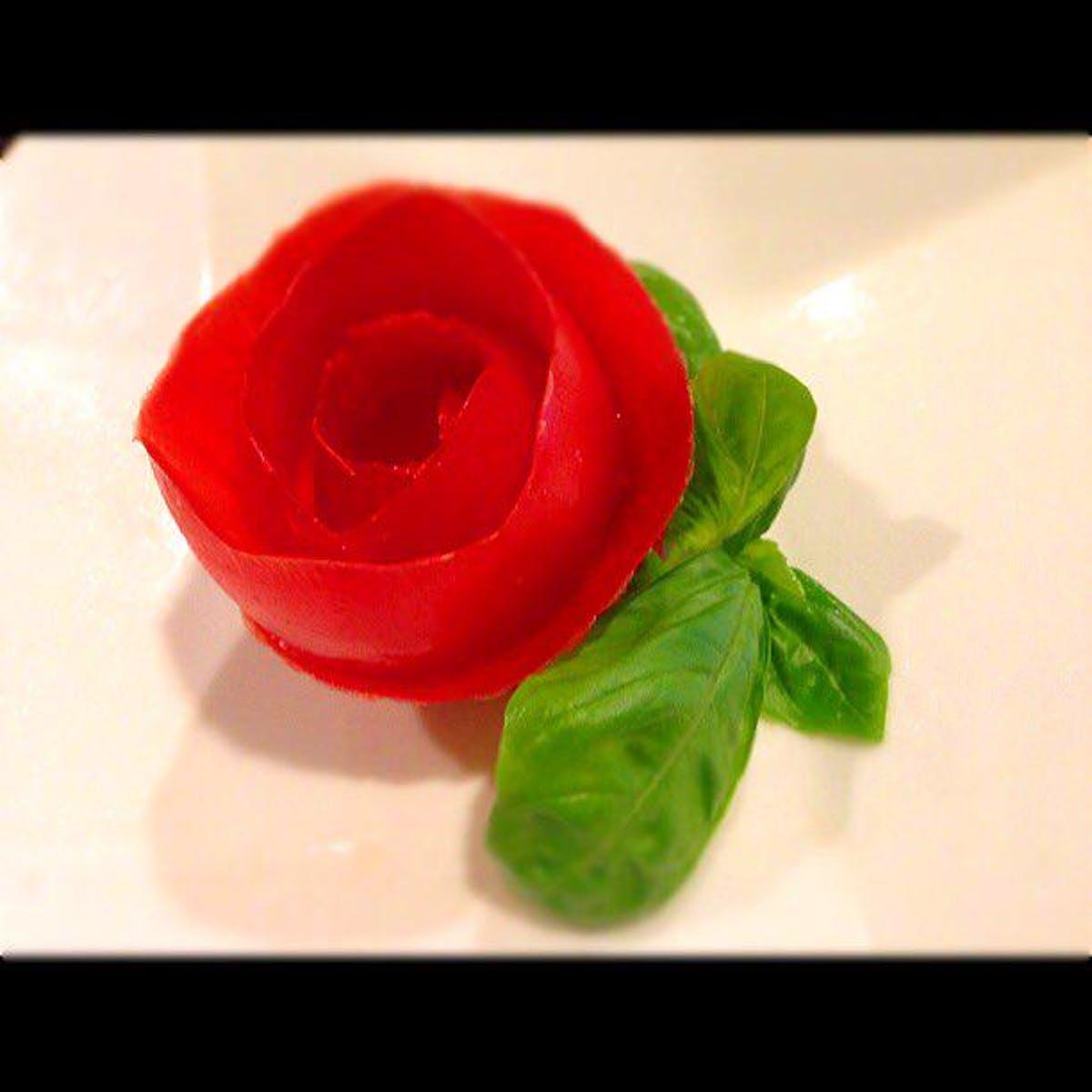トマトの薔薇