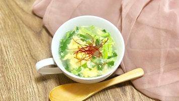 にら玉スープ