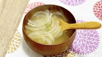 玉ねぎのコンソメスープ