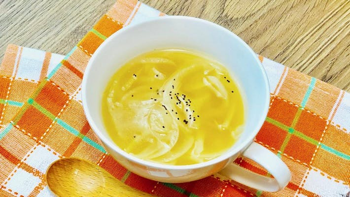 簡単オニオンスープ