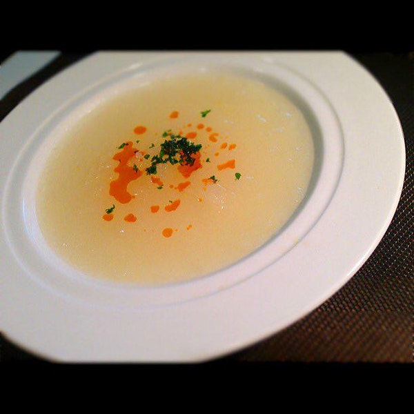 生姜と大根おろしのスープ